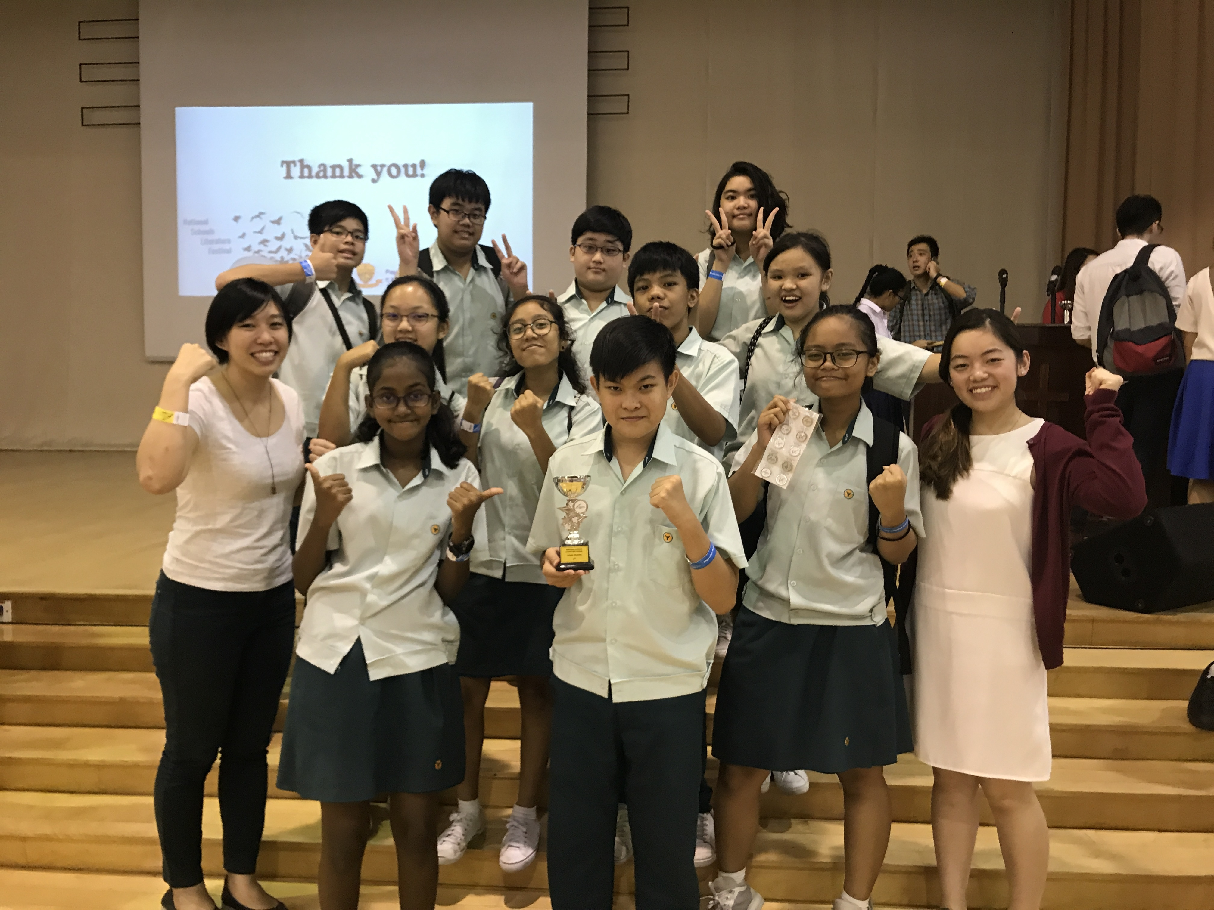 1st runner-up at the National Schools Literature Festival choral speaking competition.JPG