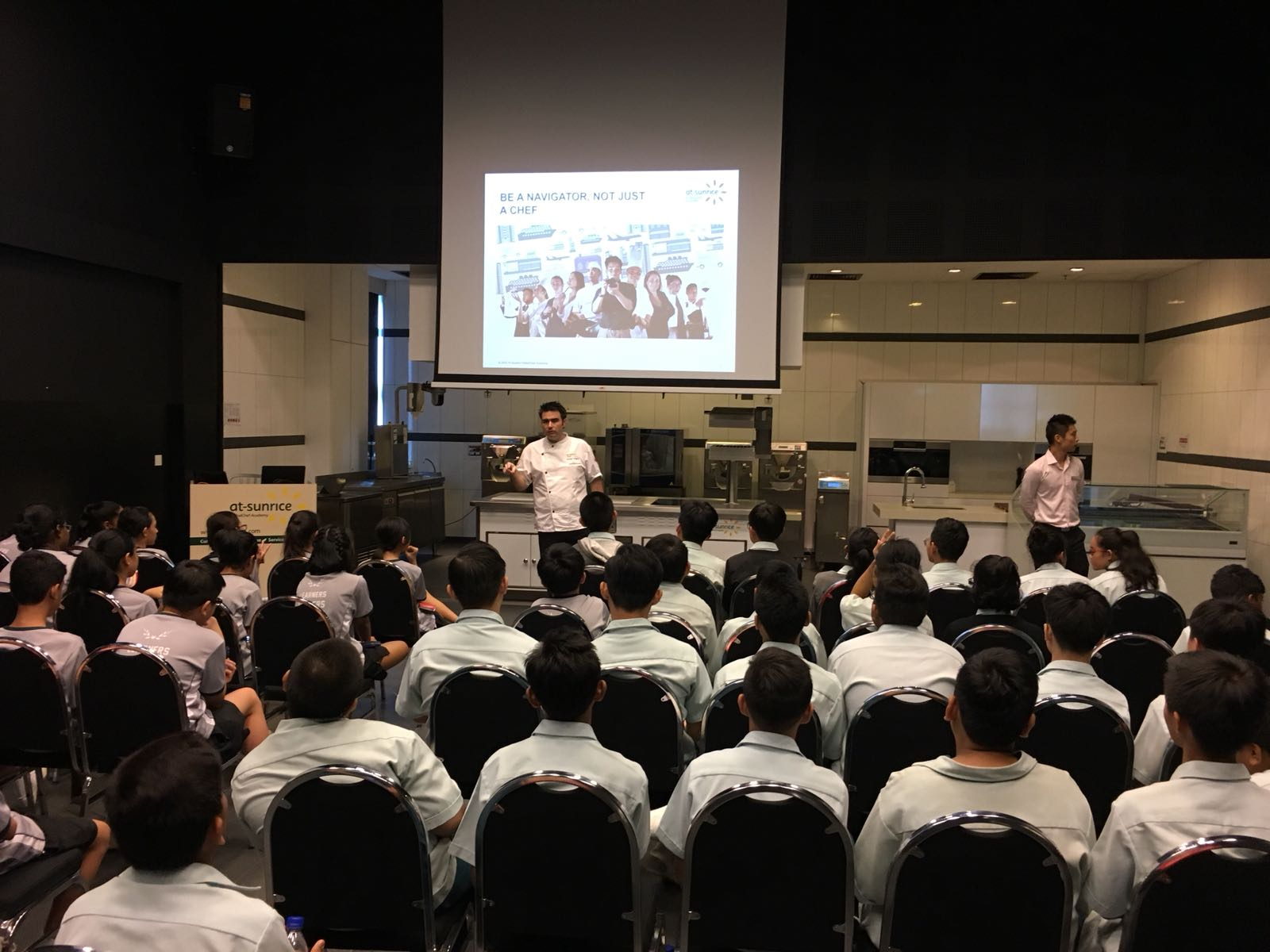 Students introduced to the F&B industry and profession at At-Sunrice GlobalChef Academy..JPG